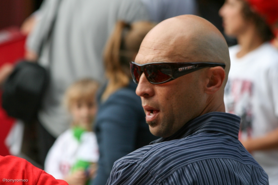 Raul Ibanez at the 2009 Phillies Phestival
