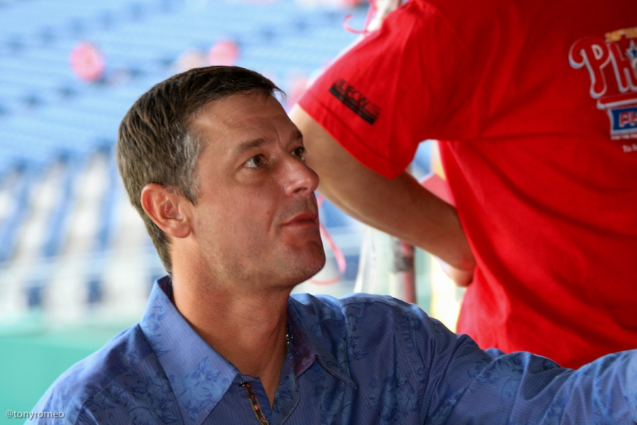 Jamie Moyer at the 2009 Phillies Phestival