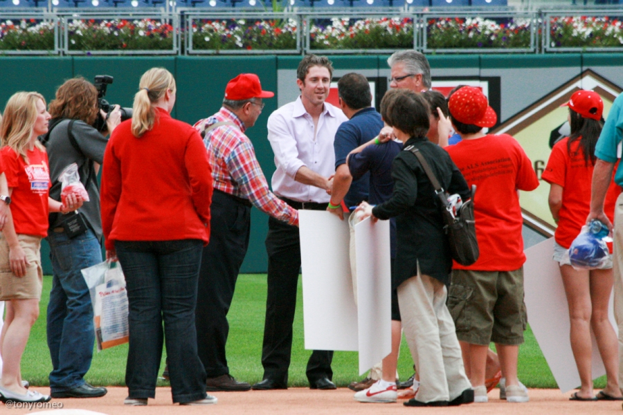 Phillies Phestival 2009 with Chase Utley