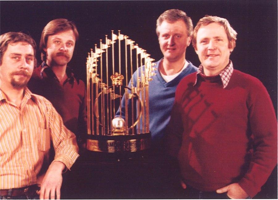 1980 World Series Trophy