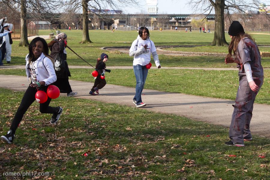 zombie run philly pics b-51