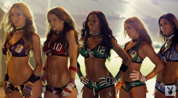 Lingerie Football League in Playboy Magazine