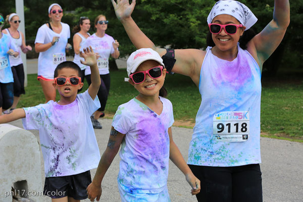Color Me Rad Philadelphia 2012