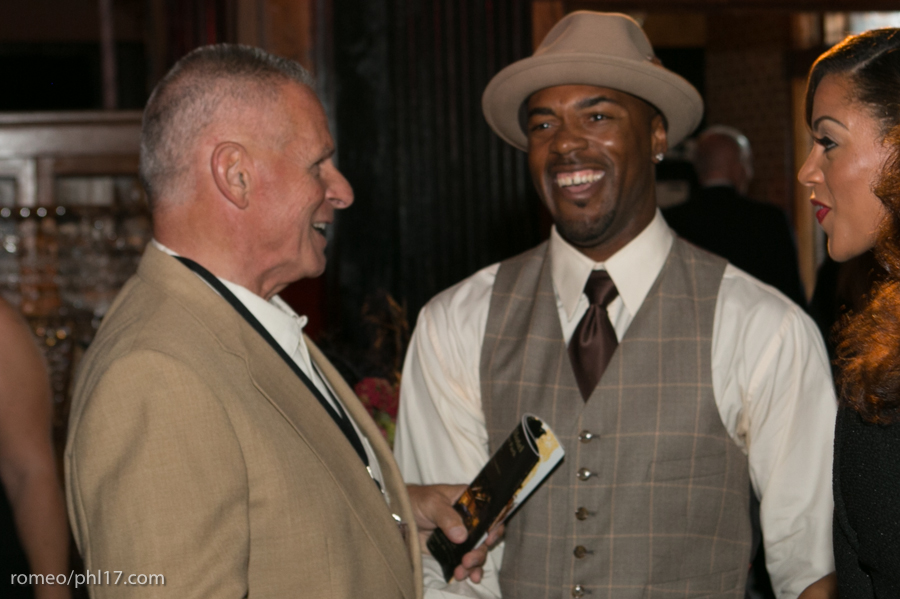 Jimmy Rollins at the Jimmy Rollins Harlem Nights 2013