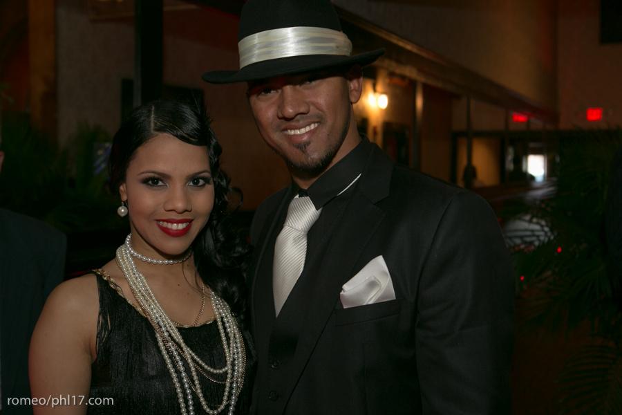 Antonio and Maribel Bastardo at Jimmy Rollins Harlem Nights 2013