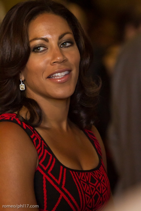 """Johari Rollins at the """"Stand Up For Literacy"""" Charity Event"""