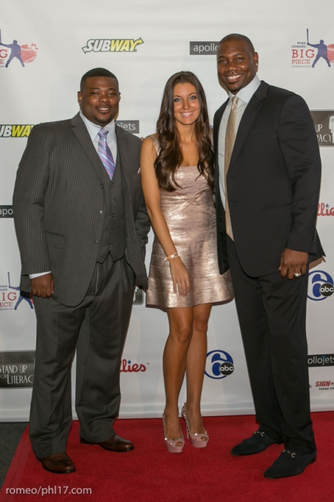 """Krystle Howard and Ryan Howard at the """"Stand Up For Literacy"""" Charity Event"""