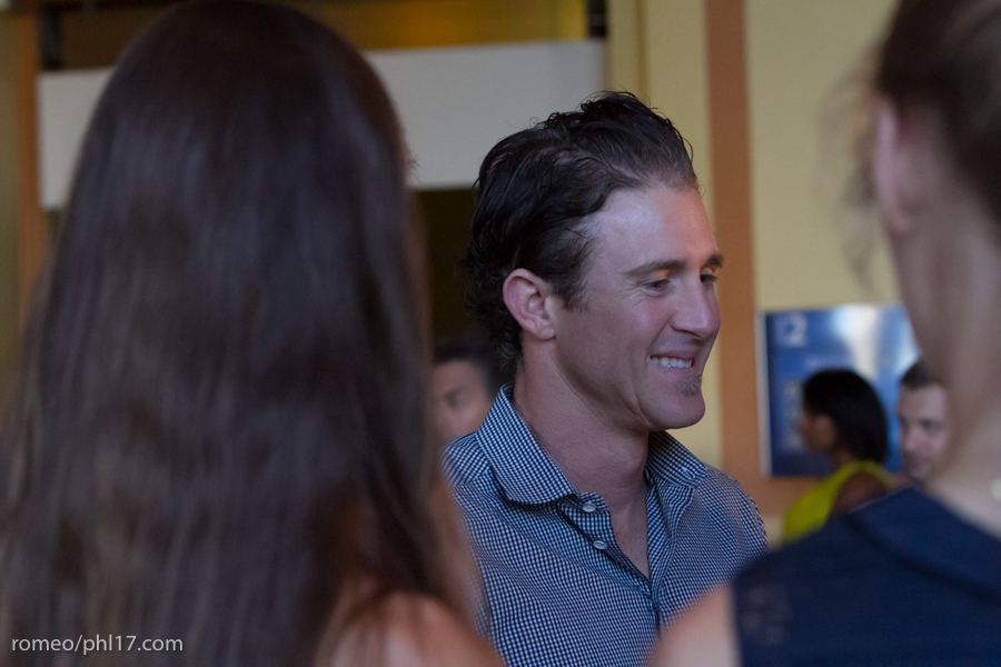 "Chase Utley at the ""Stand Up For Literacy"" Charity Event"