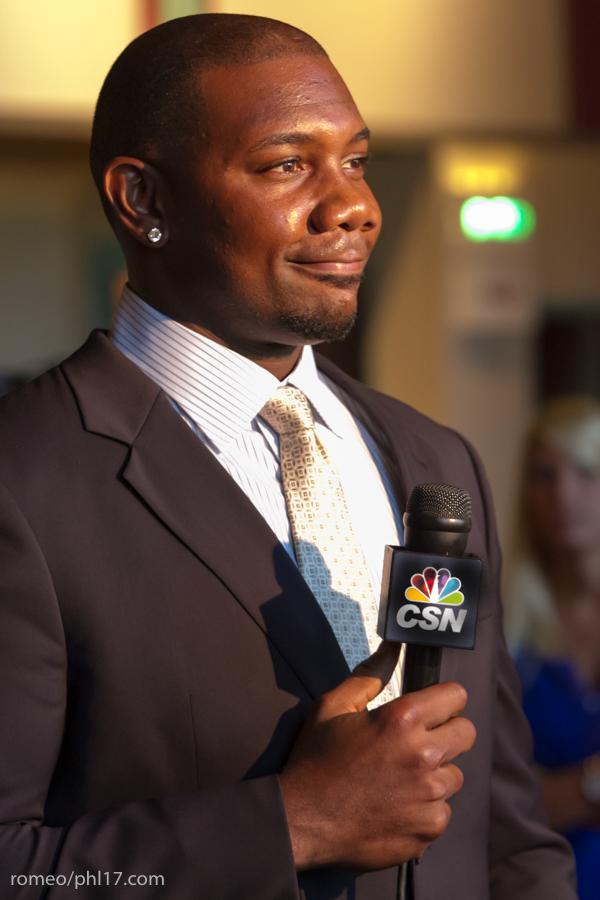 "Ryan Howard at the ""Stand Up For Literacy"" Charity Event"