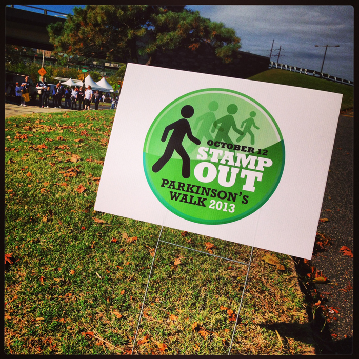 2013 Stamp Out Parkinson's Walk 1