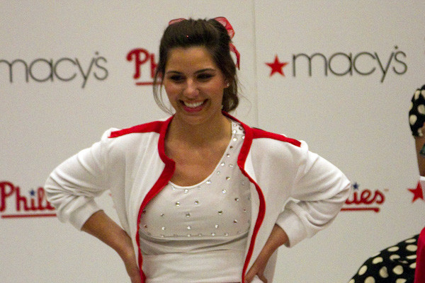 Phillies Ballgirl Fashion Show