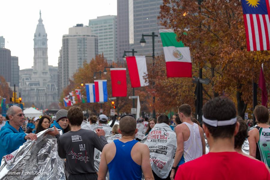Philadelphia Marathon 2013-0107