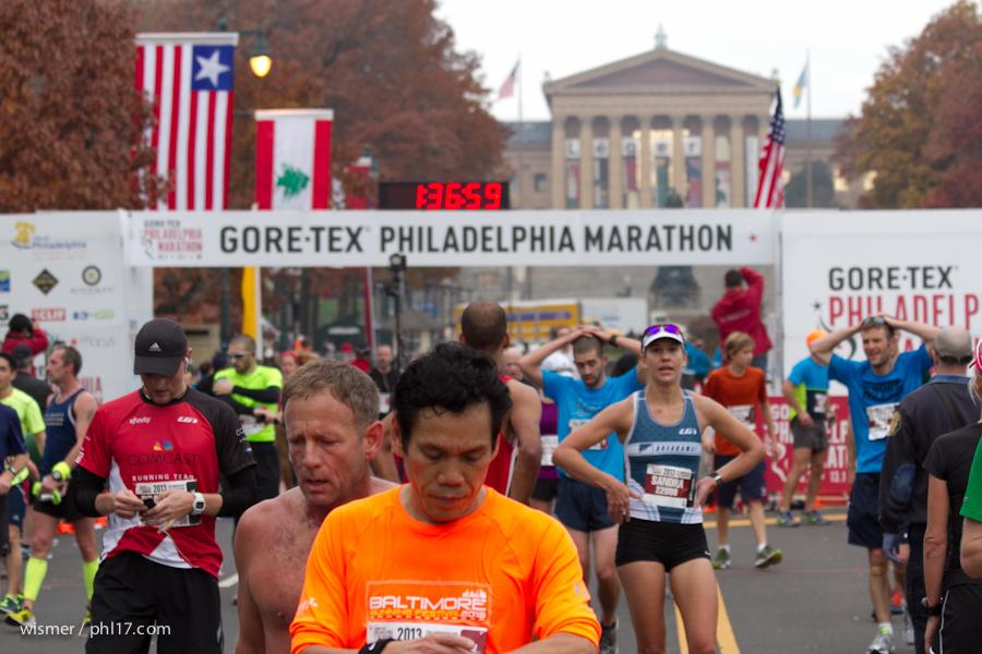 Philadelphia Marathon 2013-0113