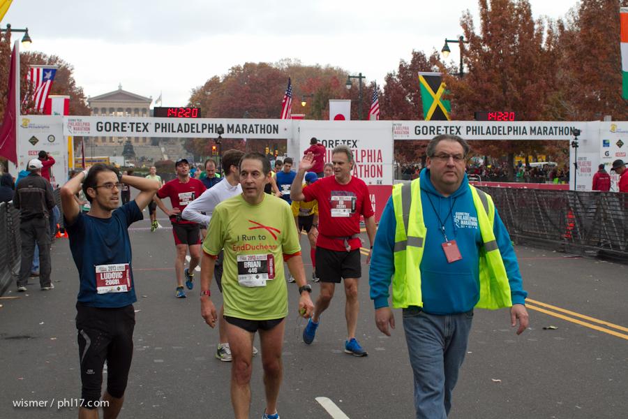 Philadelphia Marathon 2013-0163