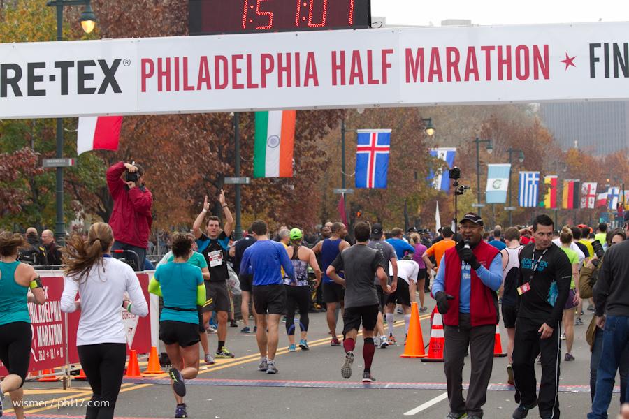 Philadelphia Marathon 2013-0203