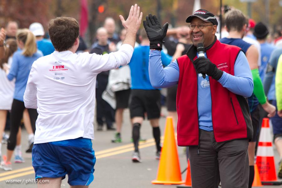 Philadelphia Marathon 2013-0218