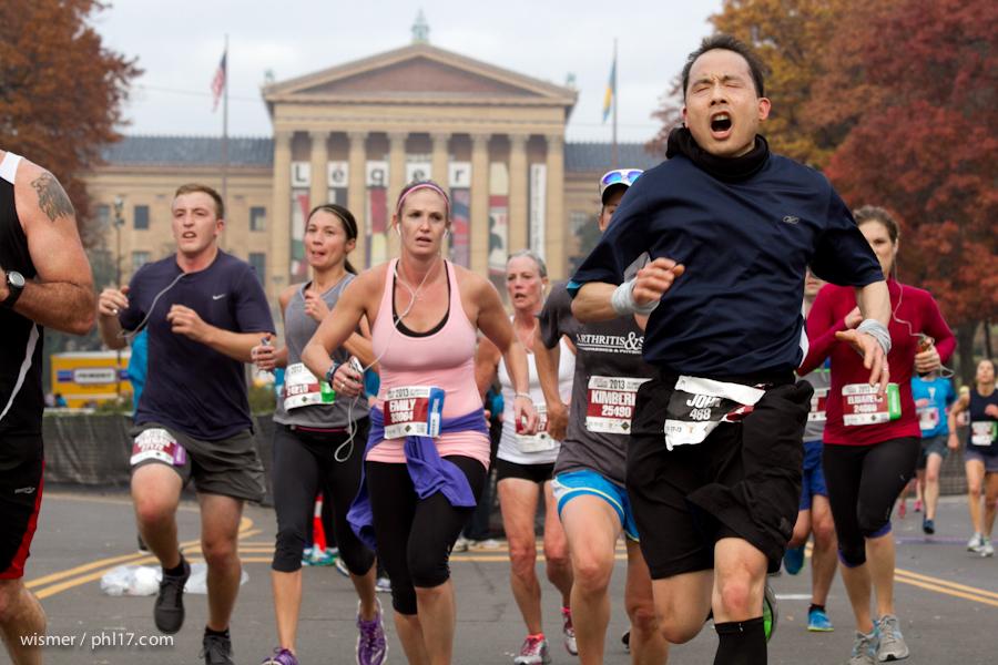 Philadelphia Marathon 2013-0334