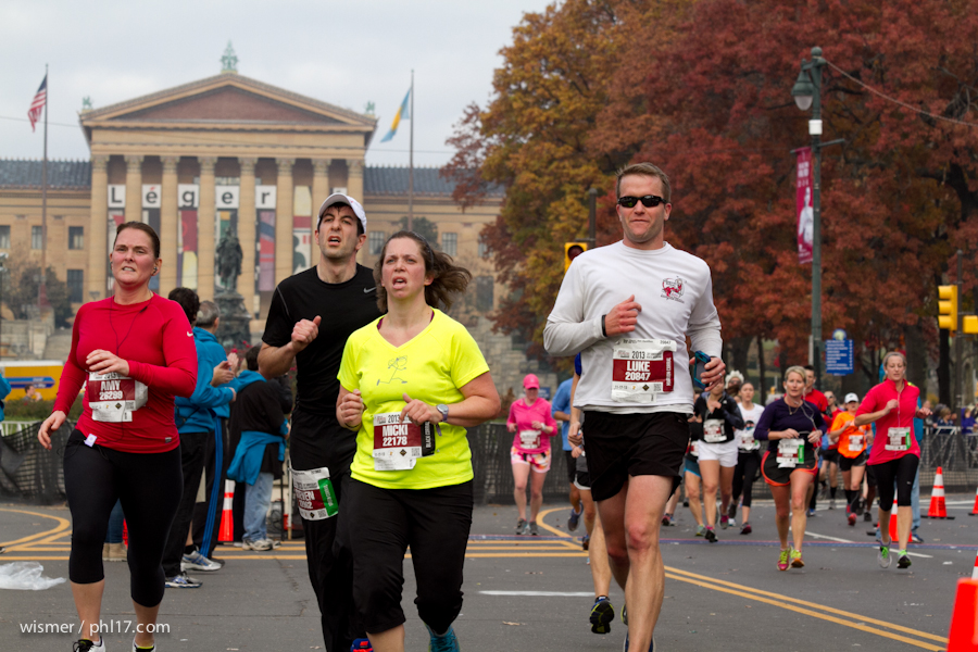 Philadelphia Marathon 2013-0344