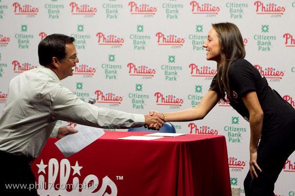 Phillies Ballgirl Tryouts 2011-07120043