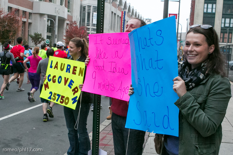 Philly-Marathon-Sign-Photos