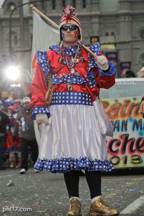 Saints Mummers Parade 2013-0425