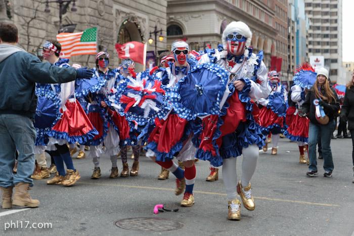 Saints Mummers Parade 2013-2711