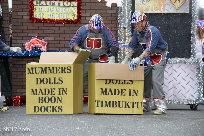 Saints Mummers Parade 2013-9939