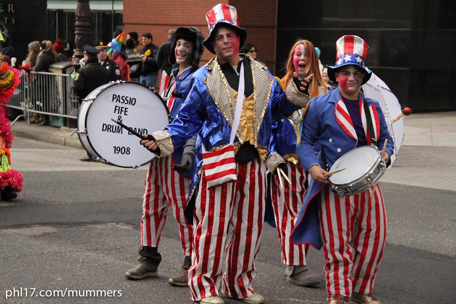 2014 Mummers Parade-10
