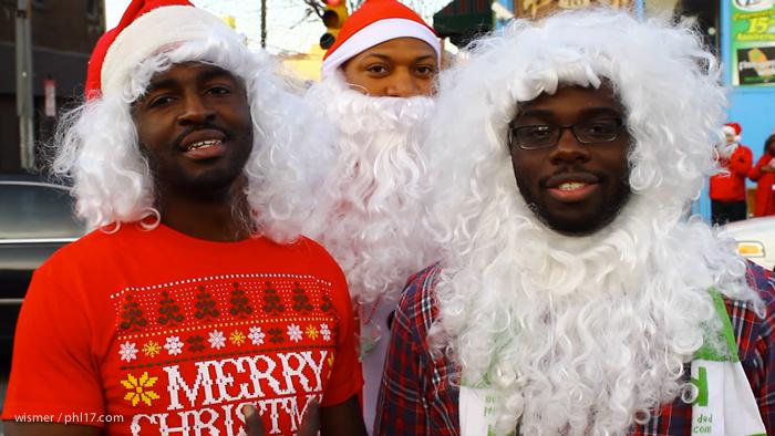 Running of the Santas 2013 whay run