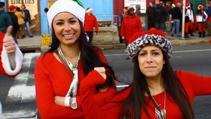 Running of the Santas 2013