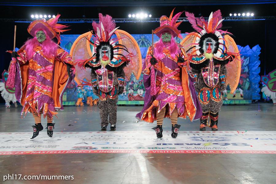 2014 Mummers Parade-9