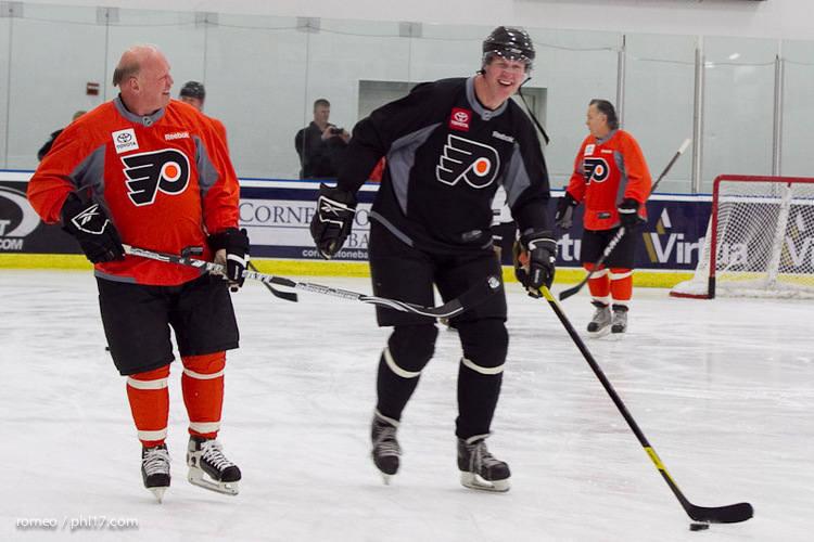 Flyers Alumni Practice-30164457