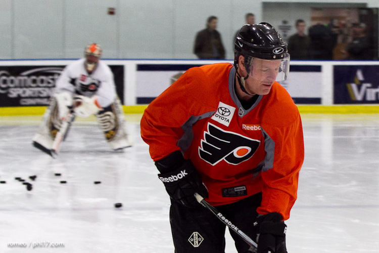 Flyers Alumni Practice-30165046