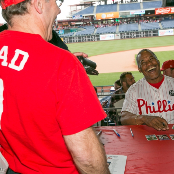 Juan Samuel at Phillies Phestival 2014