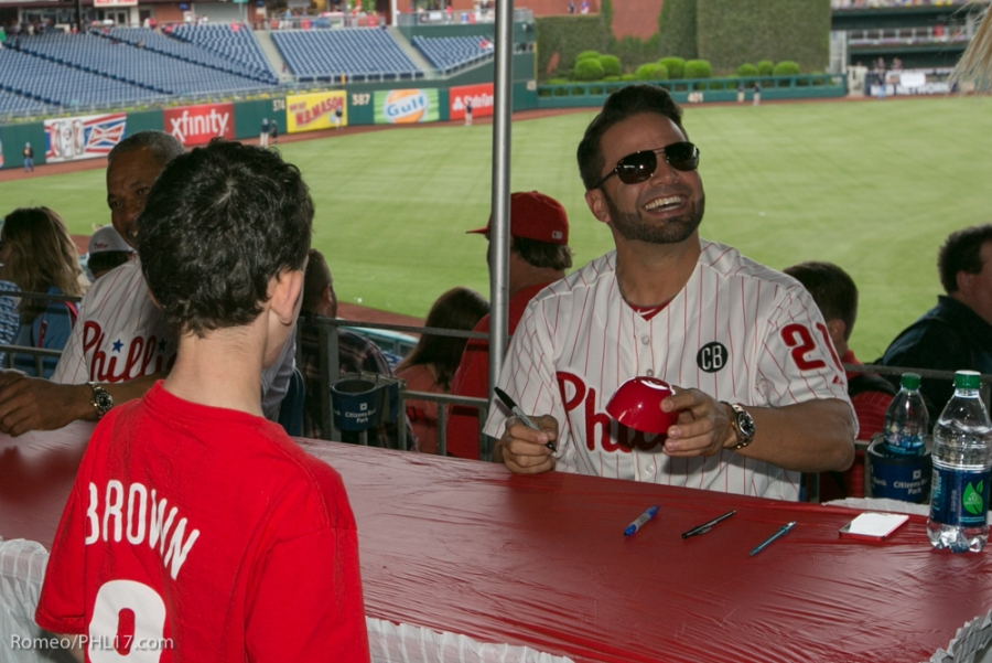 Will Nieves at Phillies Phestival 2014