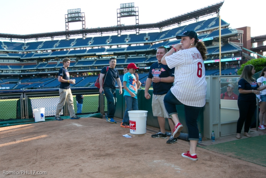 Jessica Marvel at Phillies Phestival 2014
