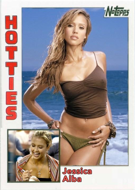 Derek Jeter Hotties Jessica Alba