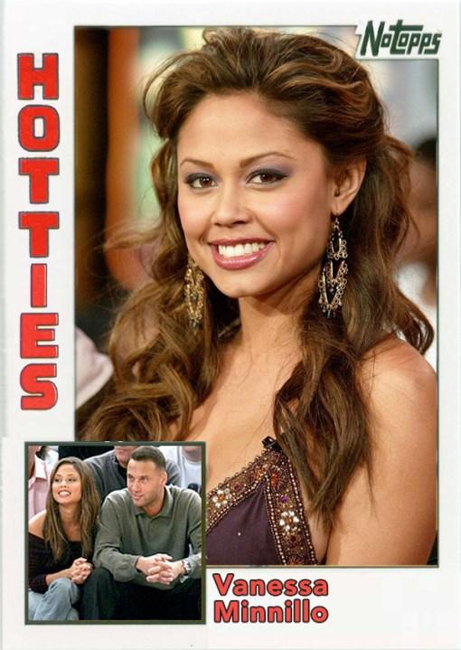Derek Jeter Hotties Vanessa Minnillo