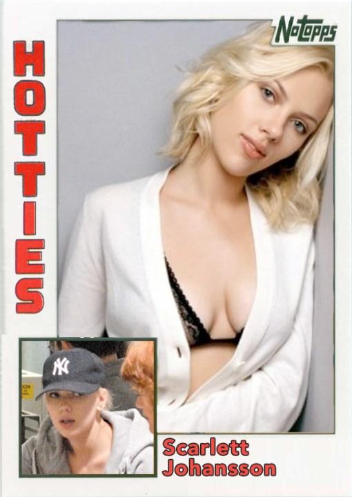 Derek Jeter Hotties Scarlett Johansson