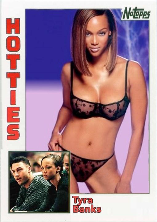 Derek Jeter Hotties Tyra Banks